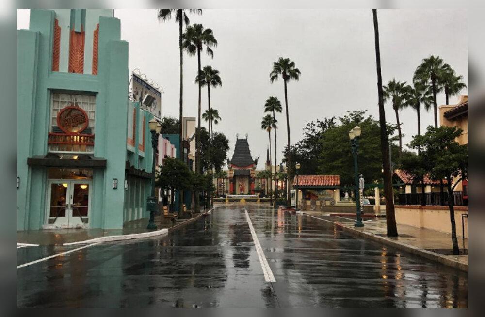 Kõhedad kaadrid: Orkaan Matthew viis maailmakuulsast Walt Disney kuurordist kogu maagia