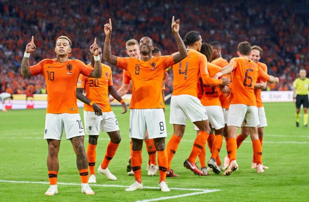 VIDEO   Holland sai oma ajaloo suurima võidu Saksamaa üle