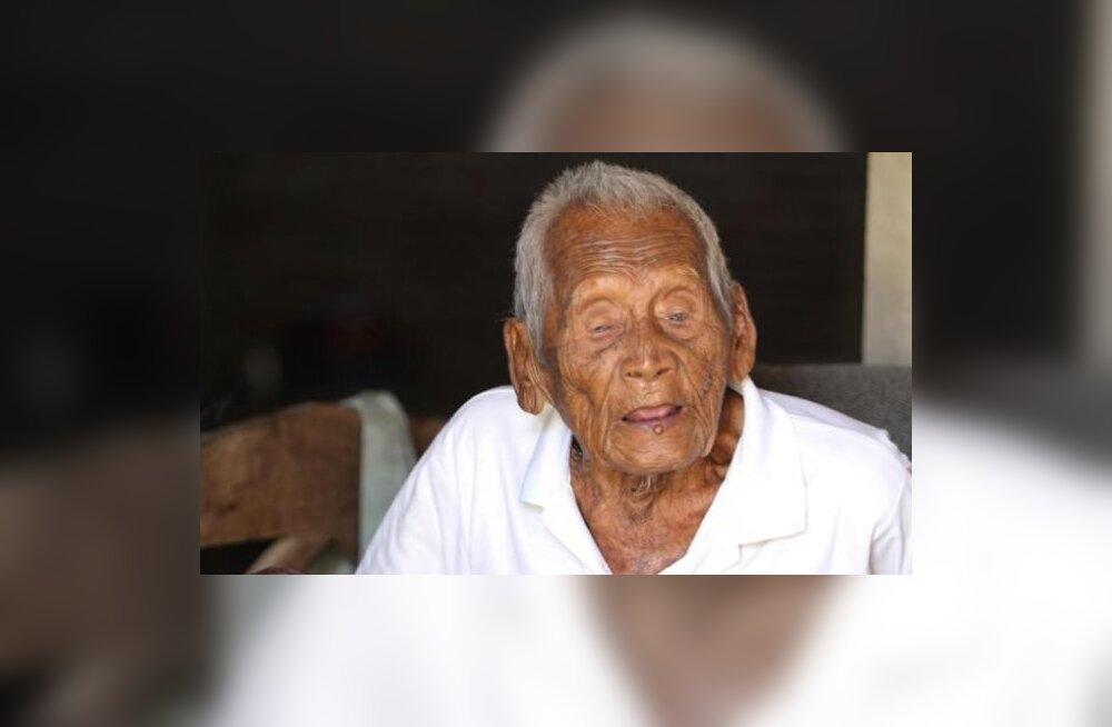 Väidetavalt maailma vanim mees elab Indoneesias