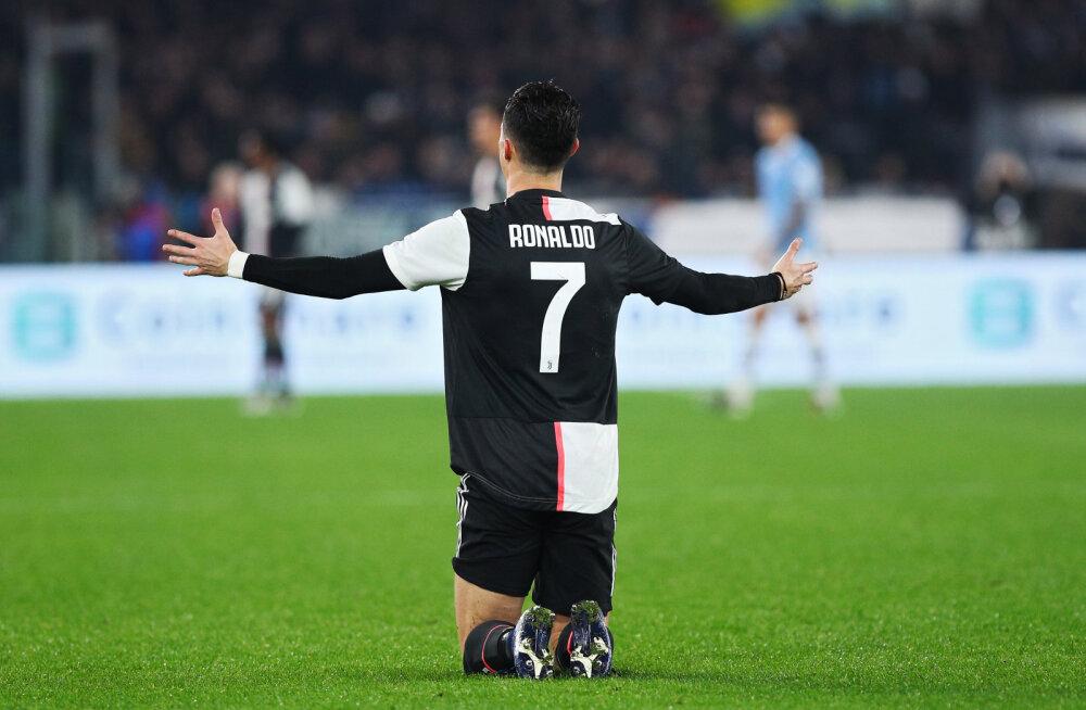 Cristiano Ronaldo lõi värava, aga Juventus sai hooaja esimese kaotuse