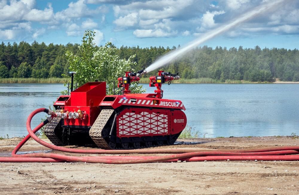 Eesti kaasab päästetöödele tuletõrjerobotid