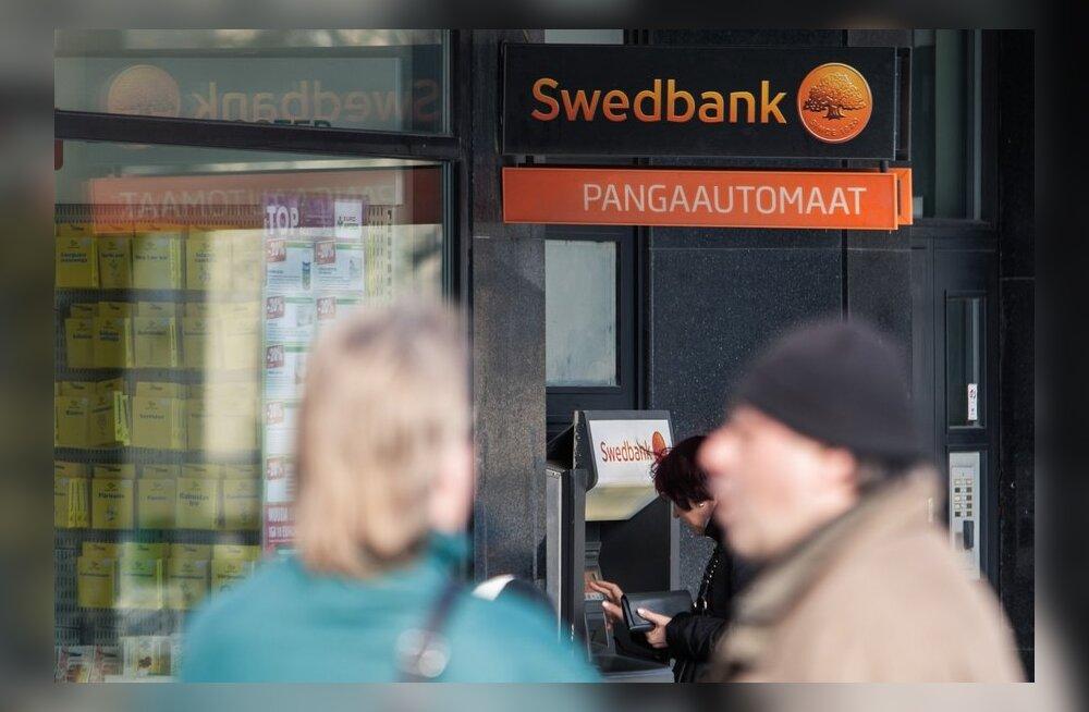 Pangad kärbivad järjekindlalt rahaautomaatide arvu
