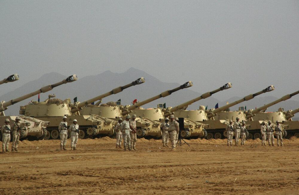 Euroopa riigid on peatanud relvaekspordi Türgile, aga sama ei ole tehtud Saudi Araabia puhul