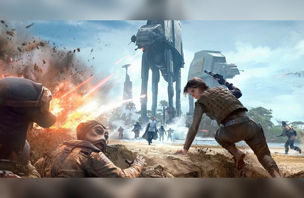 5-12. detsember: uusi videomänge – Dead Rising 4, SW Battlefront Rogue One, The Last Guardian