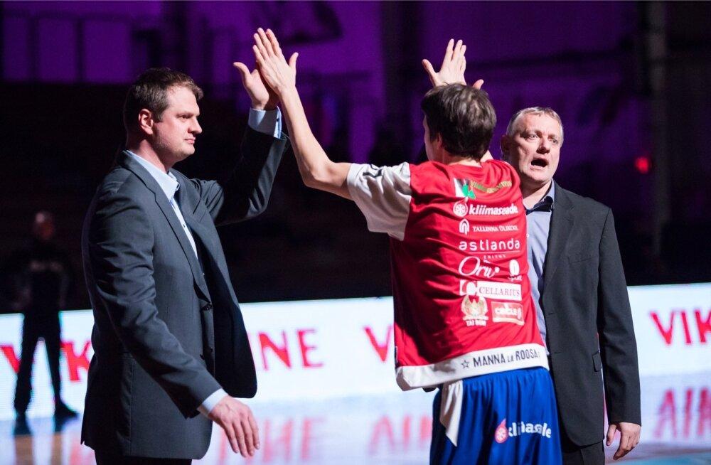 Gert Kullamäe ja Martin Müürsepp juhendavad koos Tallinna Kalevit.