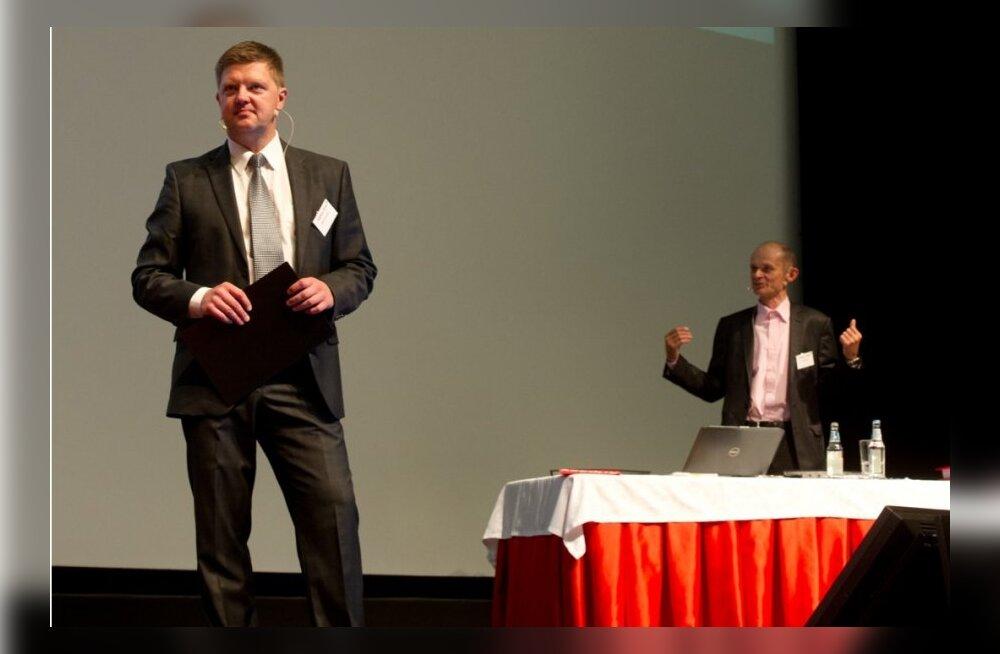 Meelis Mandel ja Igor Rõtov juhtimas konverentsi Äriplaan 2014