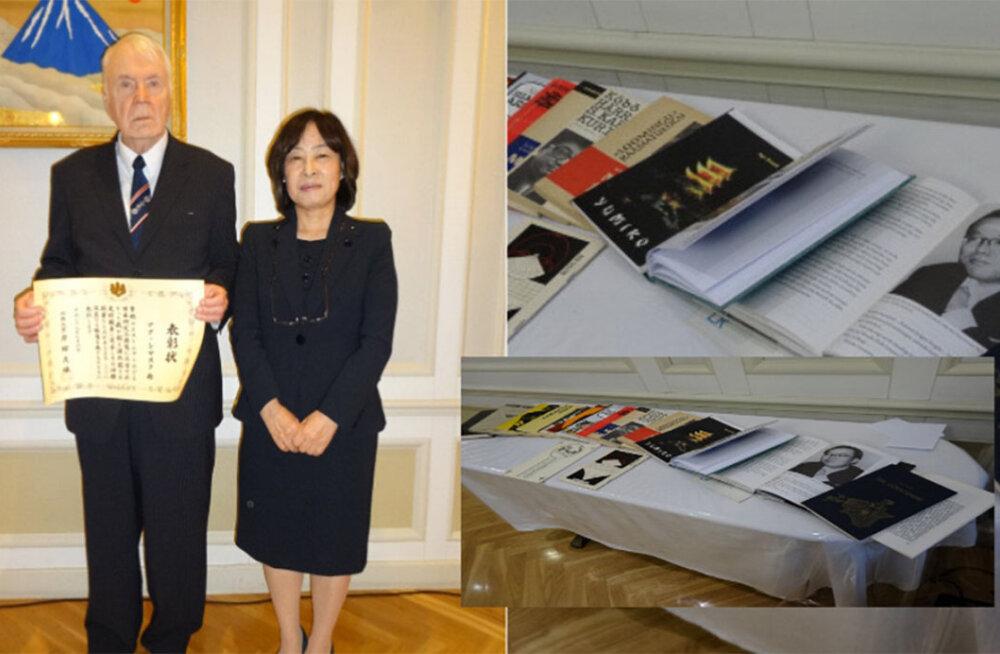 Tõlkija Agu Sisask pälvis Jaapani valitsuse tunnustuse