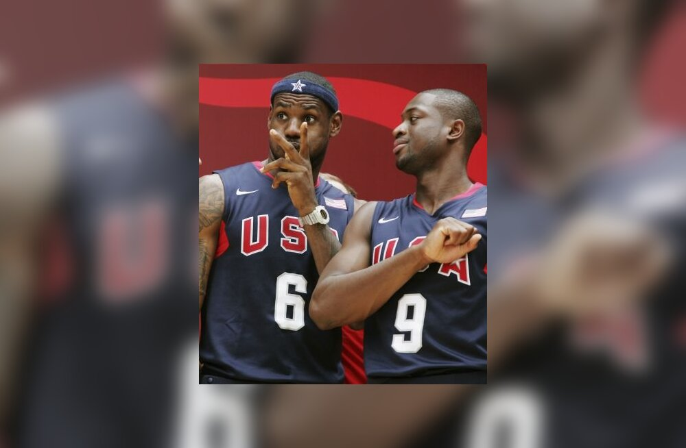 LeBron James ja Dwyane Wade