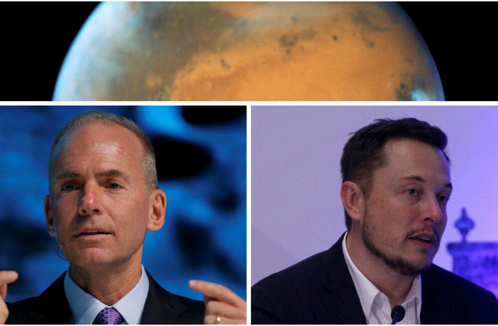 Uus kosmosevõidujooks? Boeingi juht teatas, et jõuab Marsile enne Elon Muski ja SpaceXi