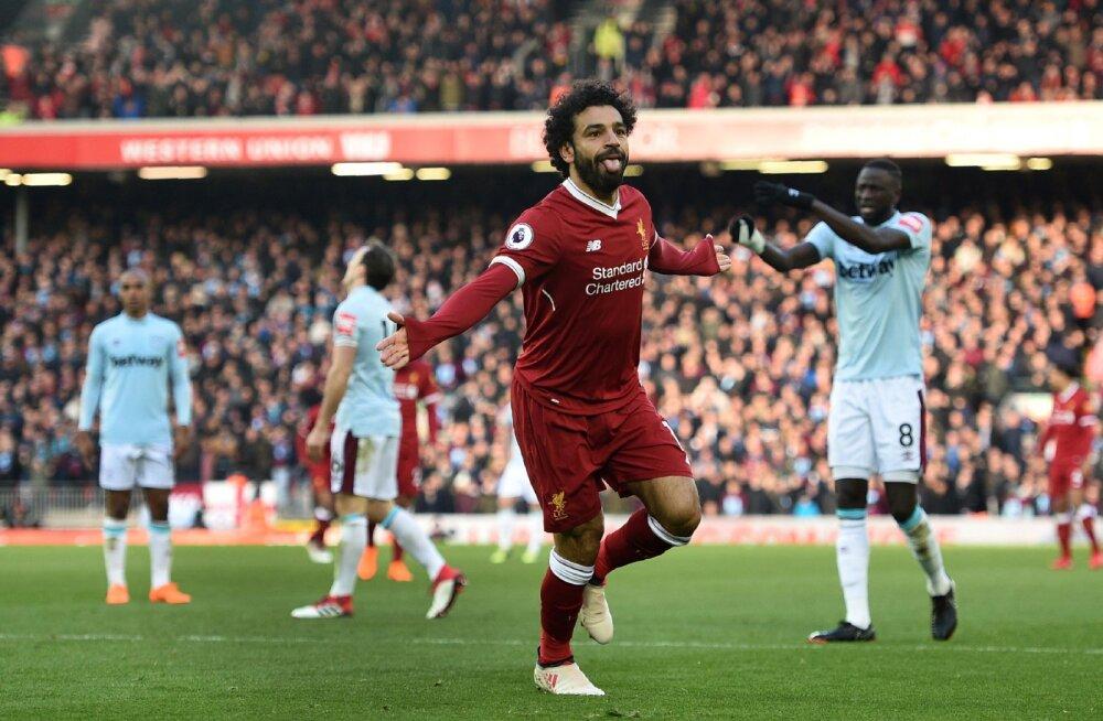 Mohamed Salah lõi juba hooaja 23. liigavärava