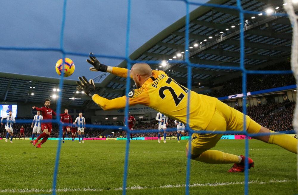 Niru Arsenal sai kaotuse, Liverpool oli hädas, aga võitis