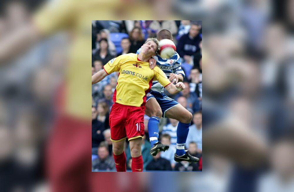 Darius Henderson (vasakul) lõi Watfordi eest 2 väravat