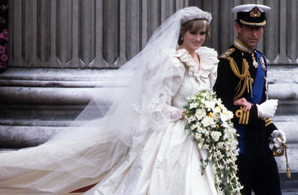 Meghan Markle ja prints Harry pulma meeleolus: 24 kõige vapustavamat kuninglikku pulmakleiti läbi ajaloo
