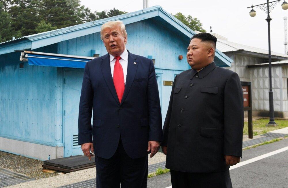 Trump ja Kim DMZ