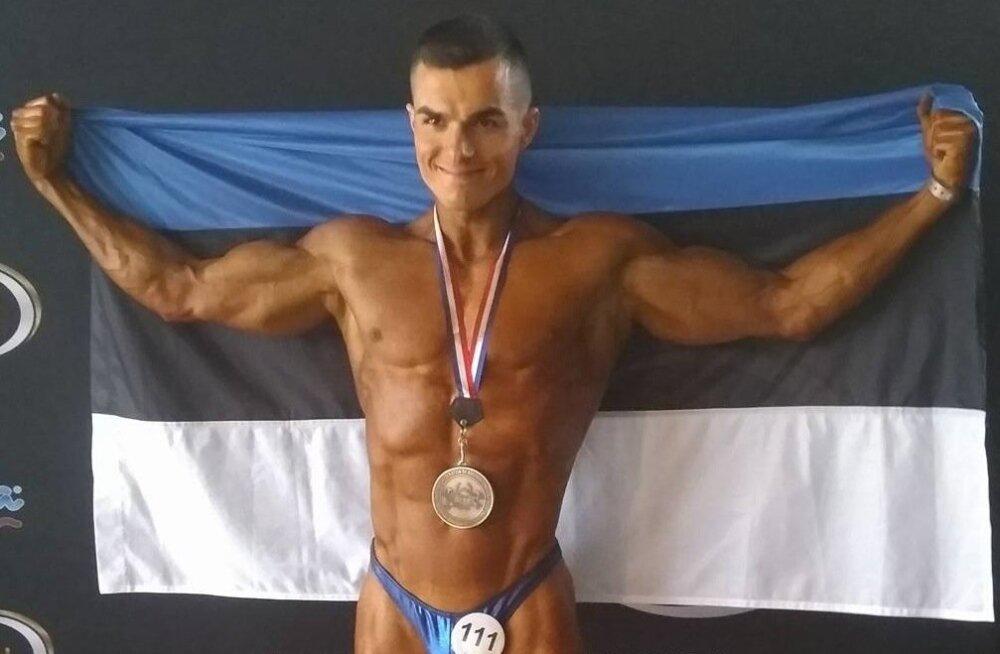 EM-medalist Siim Savisaar.