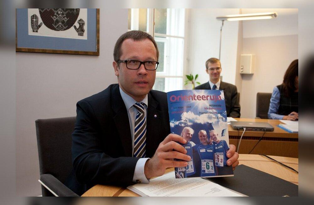 Eesti Orienteerumisliidu presidendina jätkab Urmas Klaas