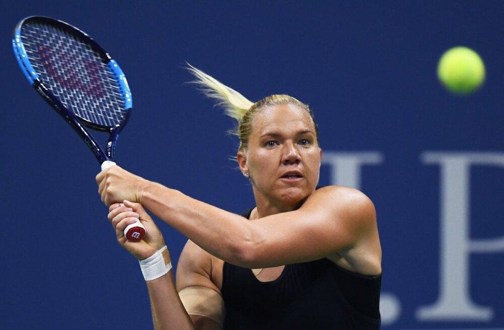 Kaia Kanepi US Openi veerandfinaalis.
