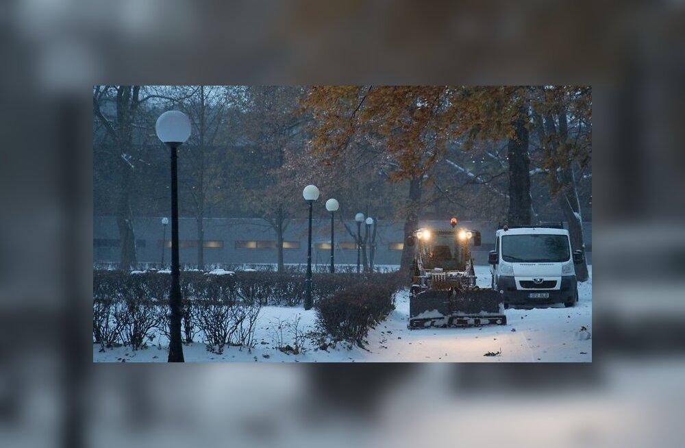 Метеослужба предупреждает о сильном снегопаде, метели и плохих дорожных условиях