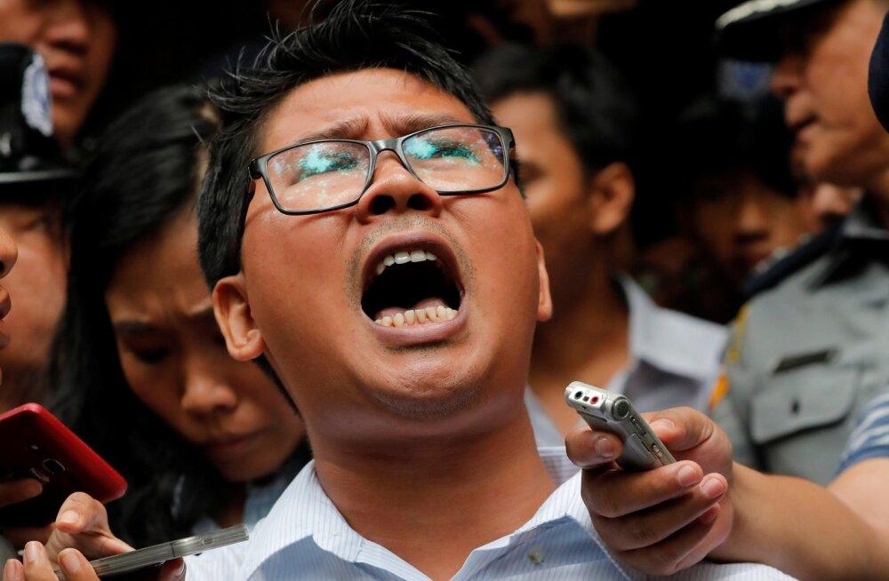 Myanmari kohtunik mõistis Reutersi ajakirjanikud seitsmeks aastaks vangi