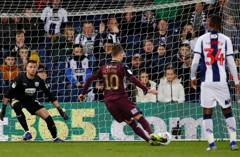 VIDEO | Kosovo koondislane lõi Inglismaa esiliigas läbi aegade ühe halvema penalti