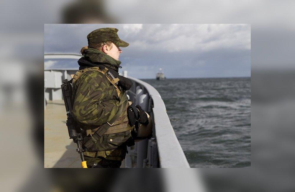 Mereväe reservõppekogunemine kulmineerub lahinglaskmistega