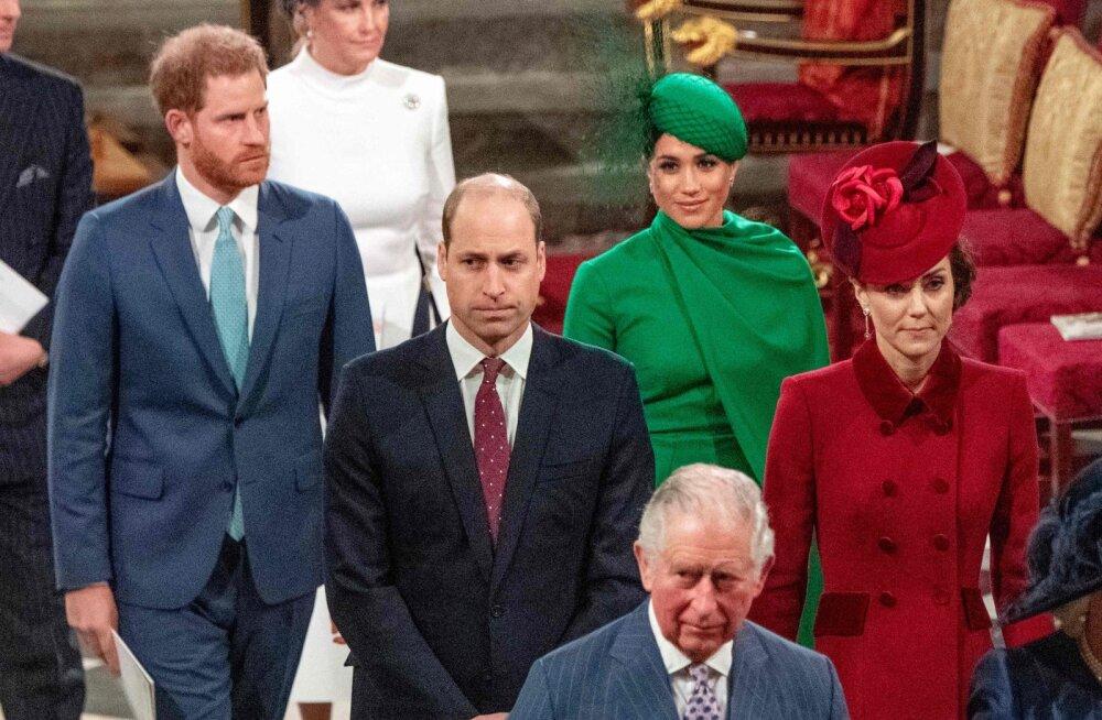 Prints Williami ja venna Harry suhted pole enam kunagi endised: Kate'ile ei ole muutus hästi mõjunud