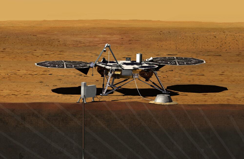 Robotite armee vallutab Marsi