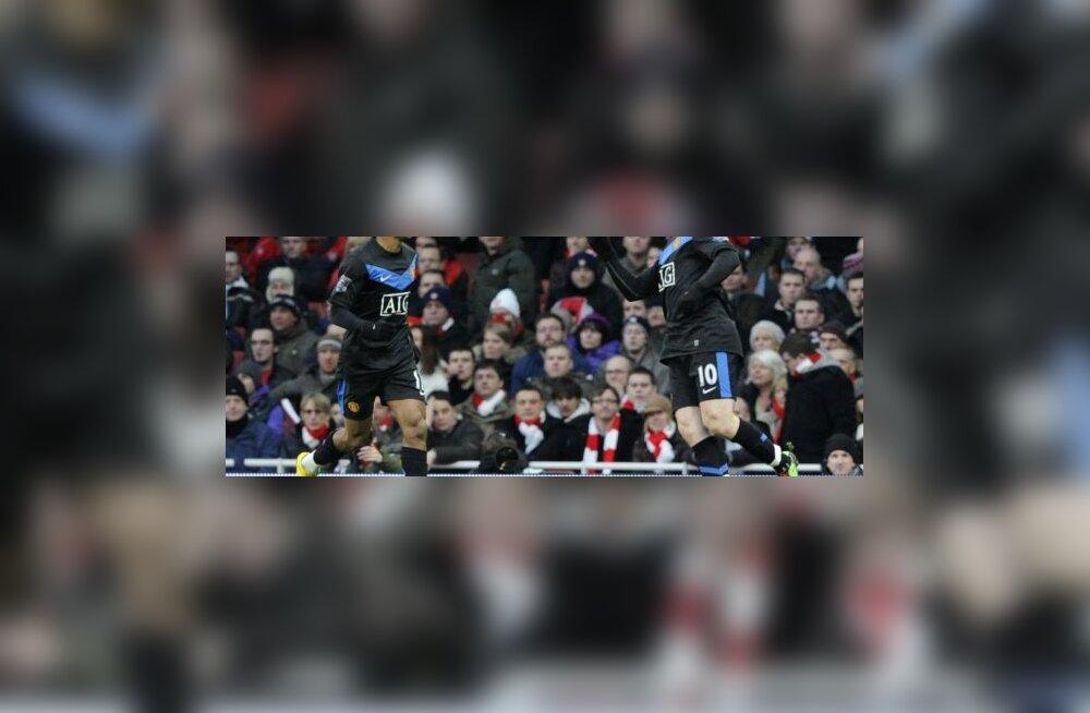 Nani & Wayne Rooney