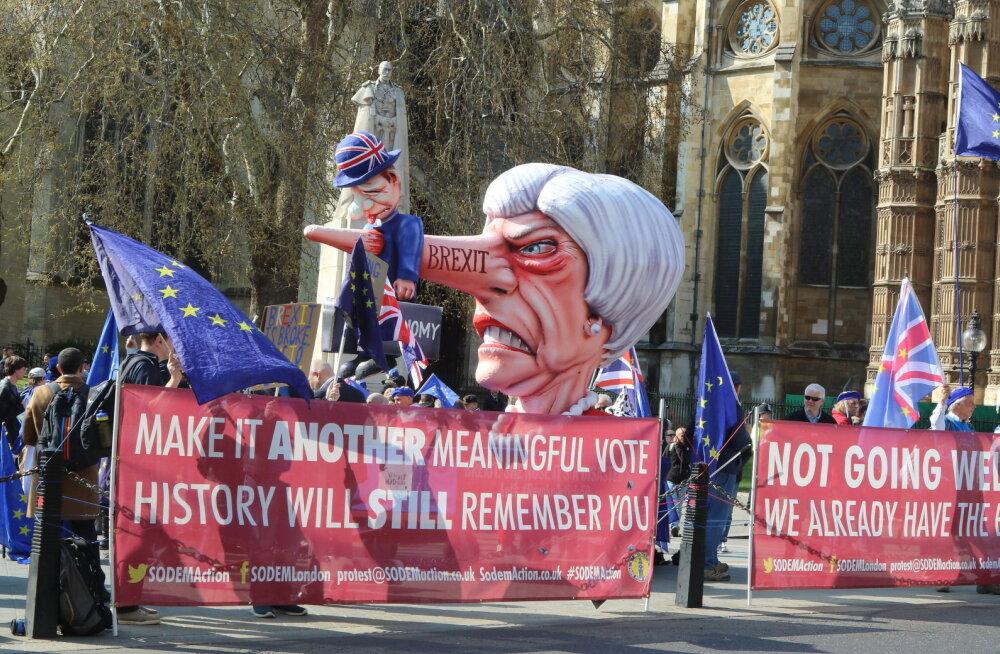 Kokkuleppeta Brexit 12. aprillil näib kõige tõenäolisem väljavaade