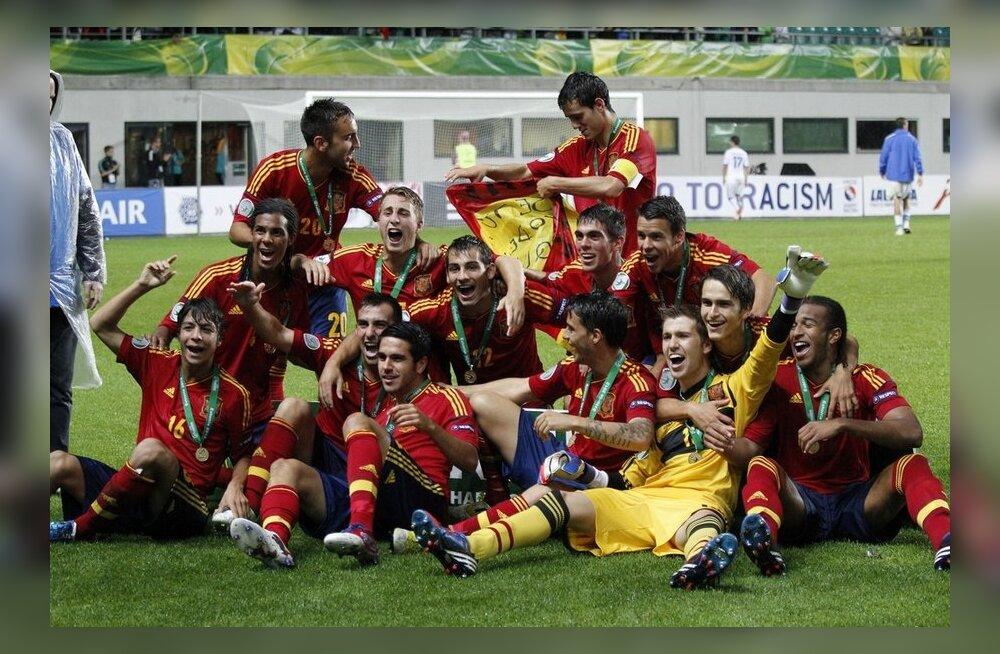 285dca64b31 FOTOD: Hispaania krooniti U19 Euroopa meistriks! - Sport