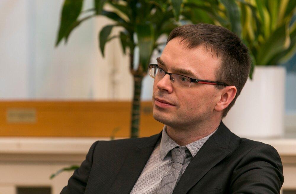 Peaministrikandidaadi Sven Mikser