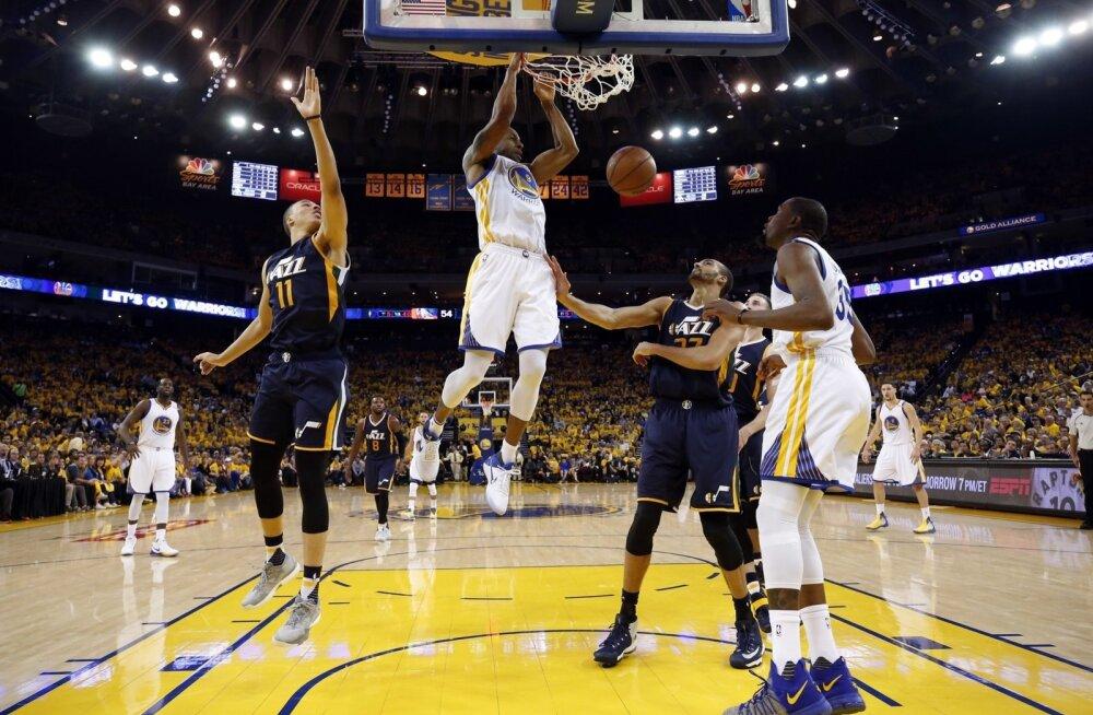 NBA poolfinaal Warriors vs Jazz