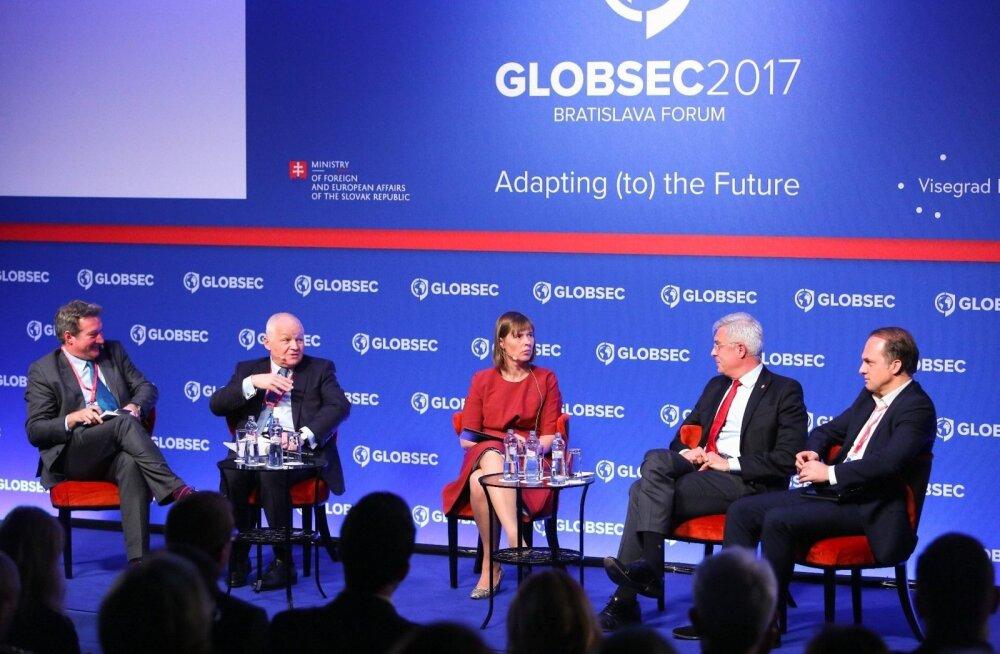 Riigipea julgeolekukonverentsil: Euroopa Liidu eelarve peab vastama muutunud oludele