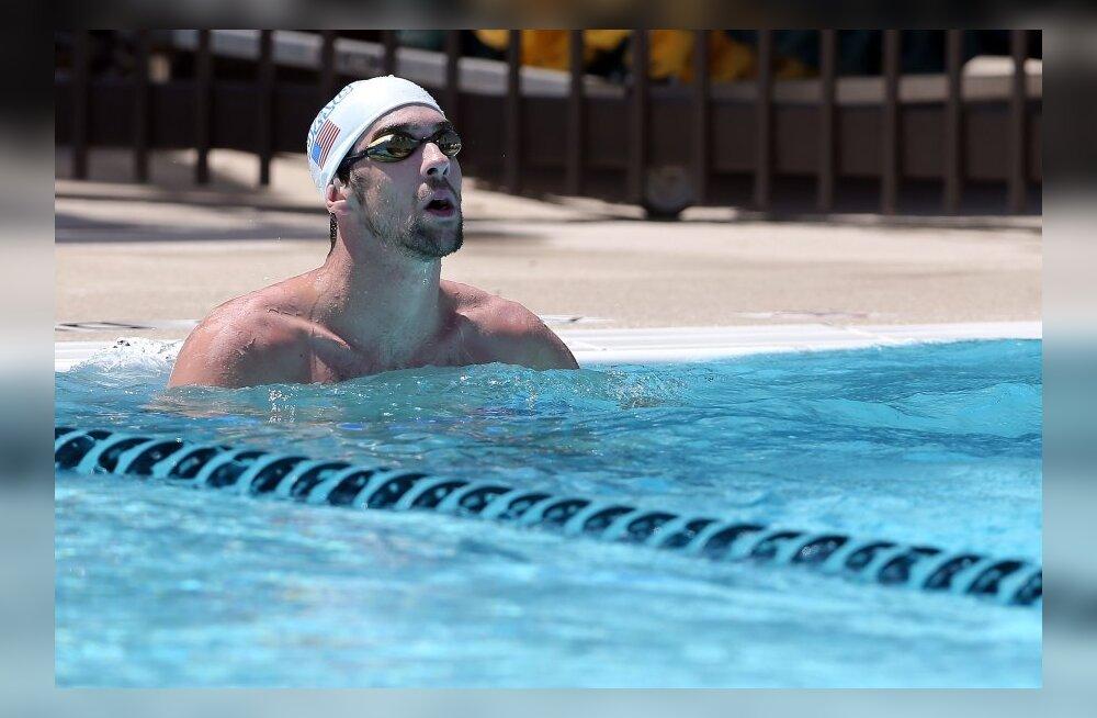 Phelpsiga koos ujunud Liivamägi oli südantsoojendava hetke tunnistajaks