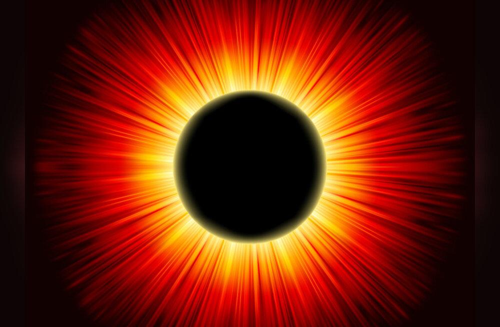 ERAKORDNE SÜNDMUS! Täna, 20. märtsil kohtuvad päikesevarjutus, kevadine pööripäev ja maagiline superkuu!