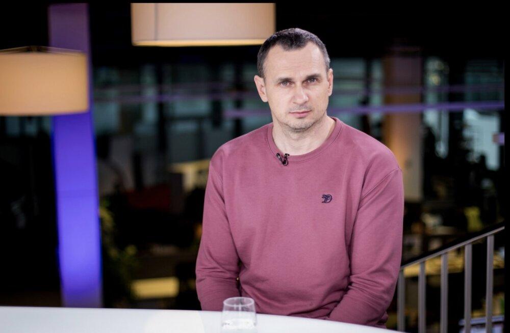 ВИДЕО DELFI | Олег Сенцов: Путин — мой враг, единственный и самый главный