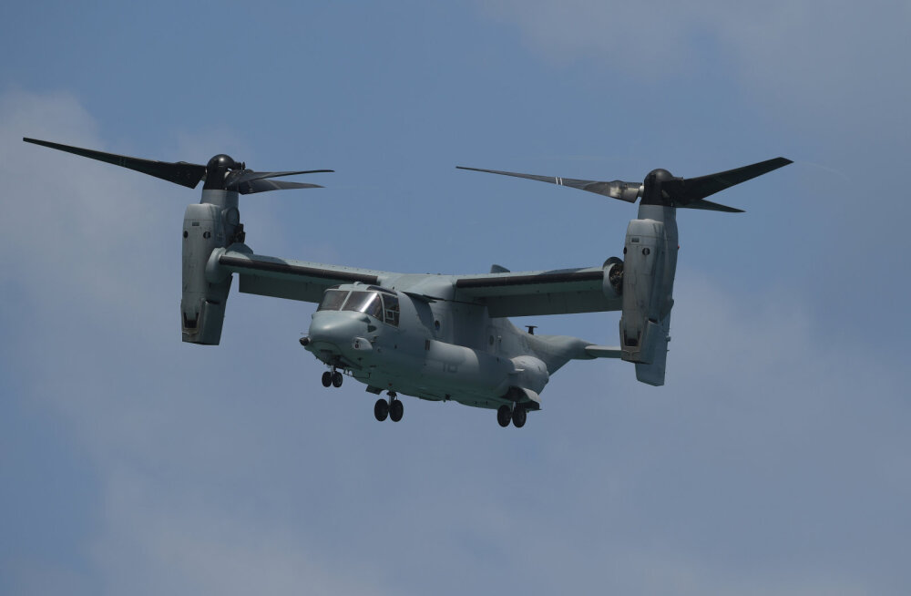 Eestis osalesid õppustel USA kopterlennukid CV-22 Osprey
