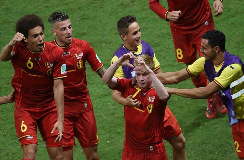 Belgia-USA jalgpall