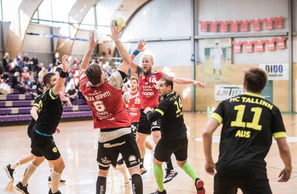 Käsipalli meistriliiga finaalseeria Põlva Serviti – HC Tallinn