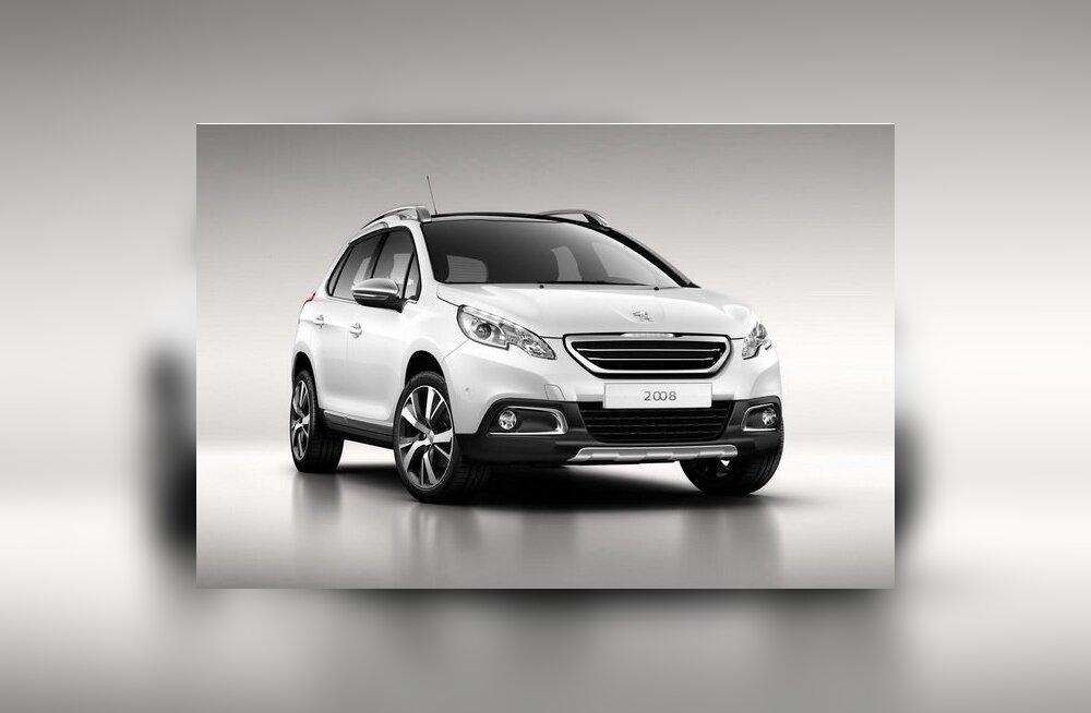 Peugeot avaldas krossoveri 2008