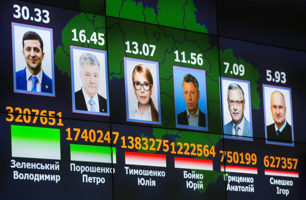 Как в Евросоюзе отреагировали на первый тур выборов президента Украины