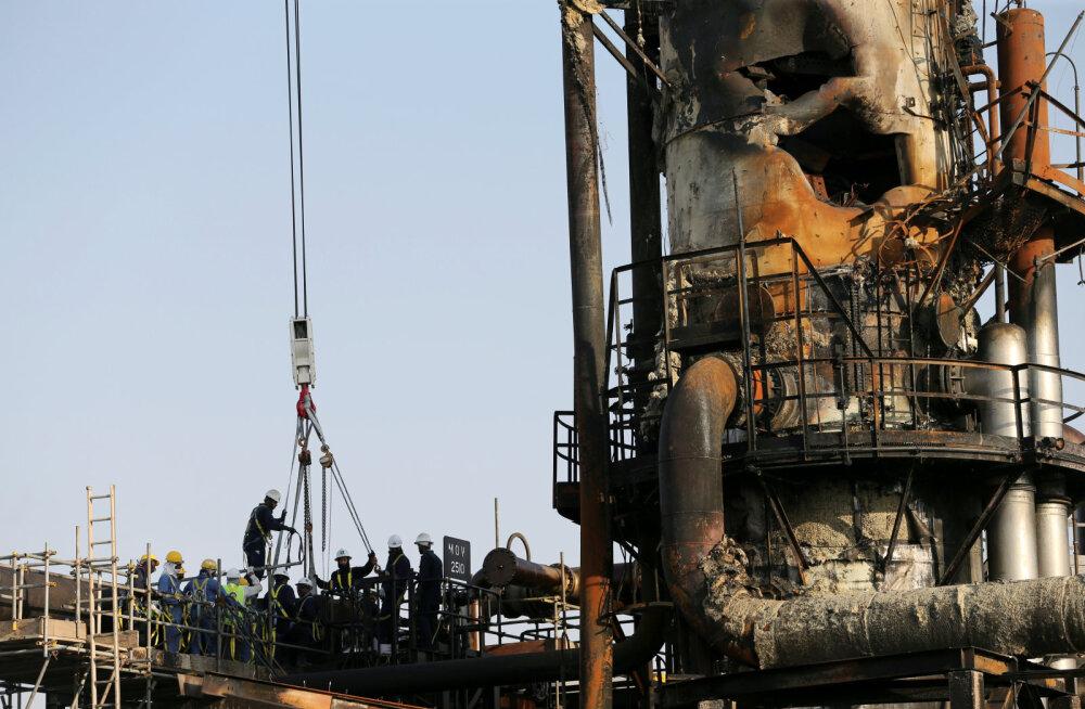 WSJ: Saudi Araabia naftarajatiste taastamine võib kesta kuid kauem, kui on lubatud