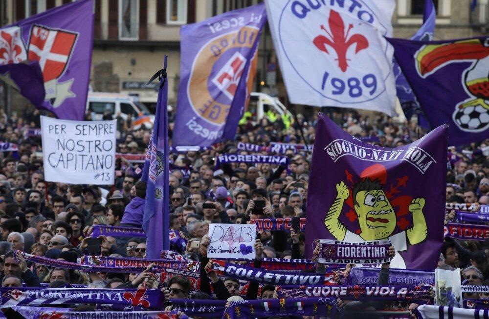 Jalgpallur Davide Astori matused