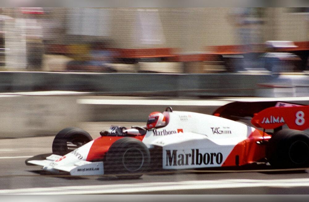 F1 aastal 1984: Niki Lauda võimas tagasitulek veelgi võimsama McLareni roolis