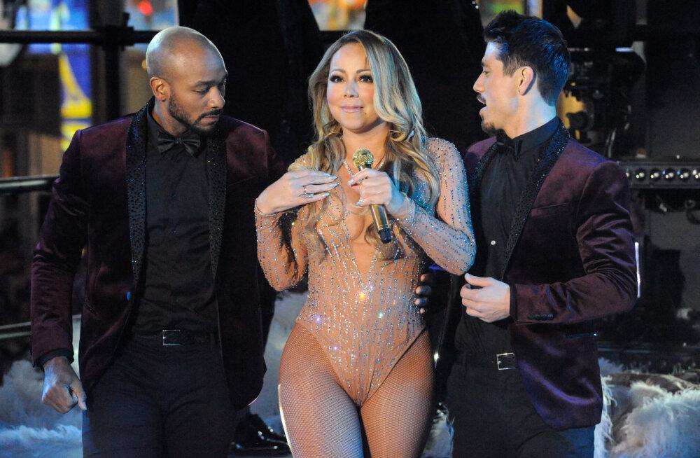 Mariah Carey esindajad surmkindlad: Telesaate tegijad saboteerisid artisti läbikukkunud uusaasta esinemist meelega