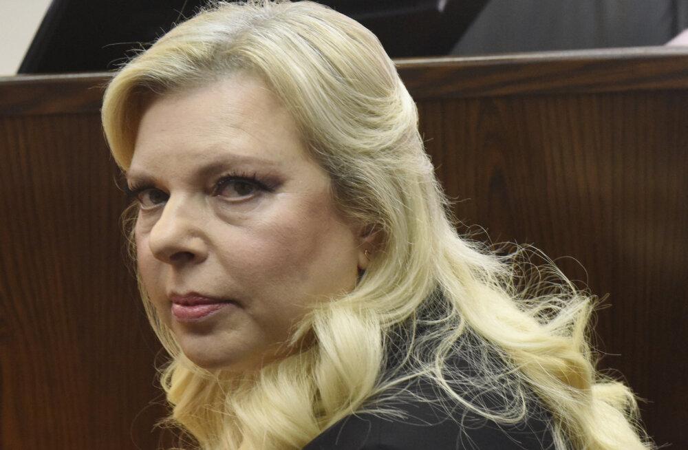 Iisraeli peaministri abikaasa tunnistas end kuriteos süüdi