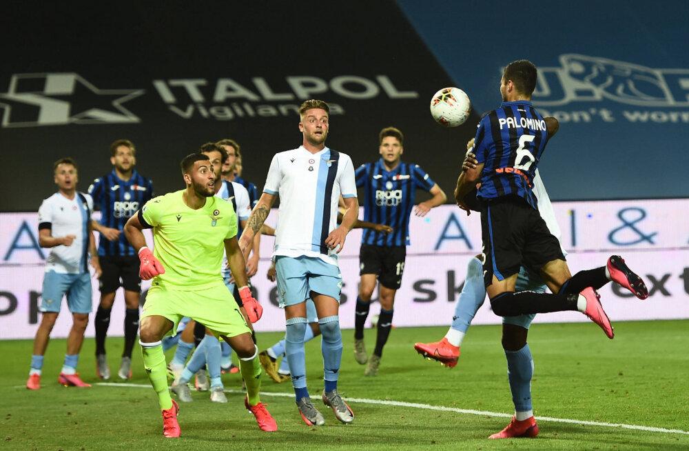 Jose Luis Palomino lööb Atalanta võiduvärava
