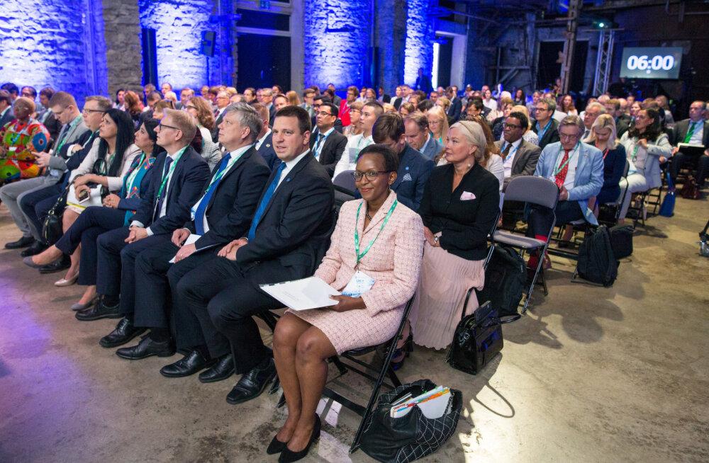 "Otseblogi Tallinnas toimuvalt ÜRO Keskkonnafoorumilt ""The Earth Innovation Forum"""