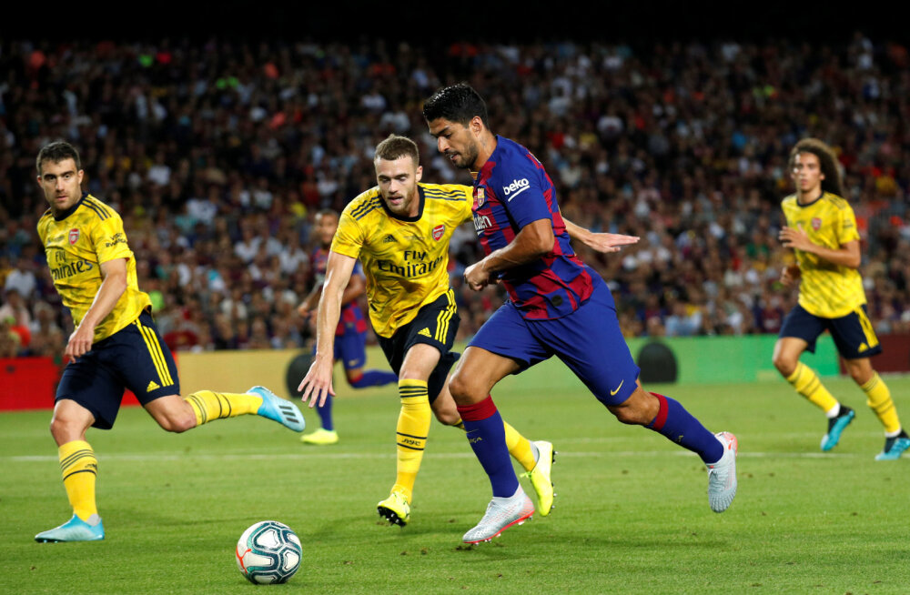 Luis Suarez lööb värava