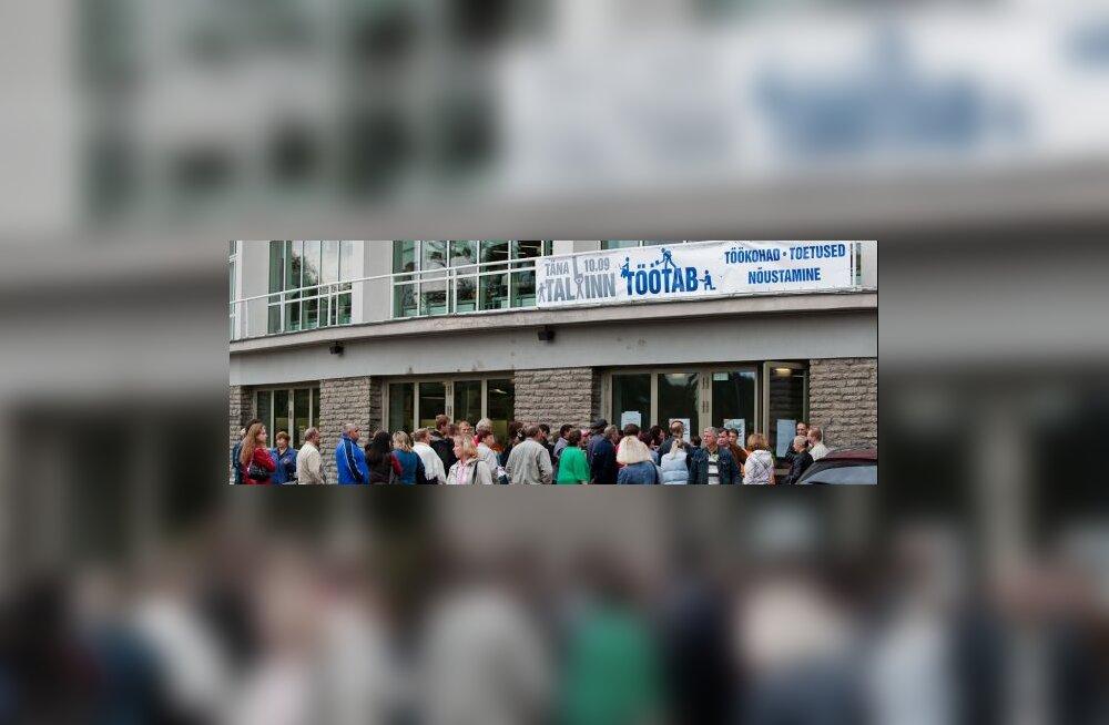 Tallinn pakub tööbörsil 400 töökohta